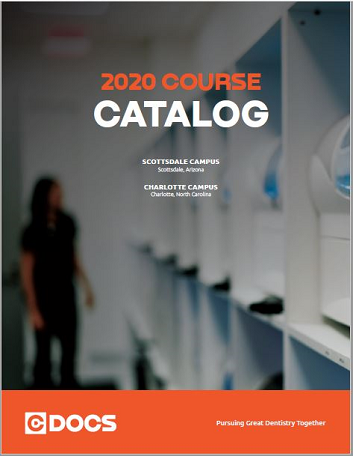 CEREC Course Catalog