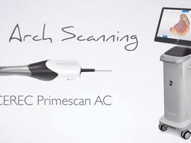 CEREC Primescan Full Arch Scanning