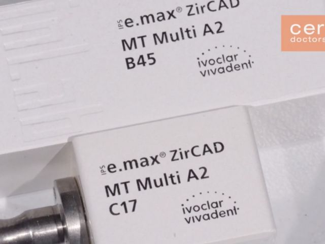 Introducing IPS e.max ZirCAD MT Multi for CEREC