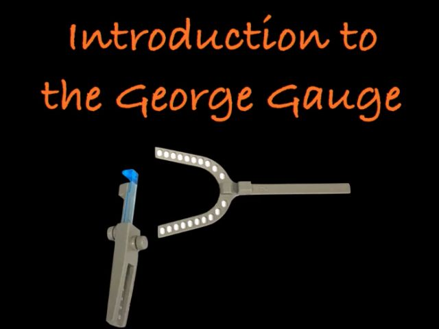 Use of the George Gauge in Treating OSA