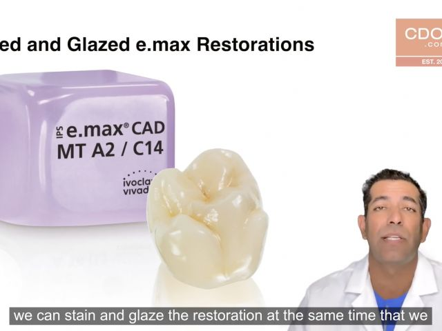 Tip of the Day - Self Glazing e.max