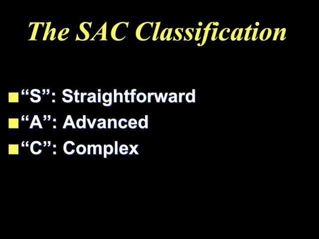 SAC Classification