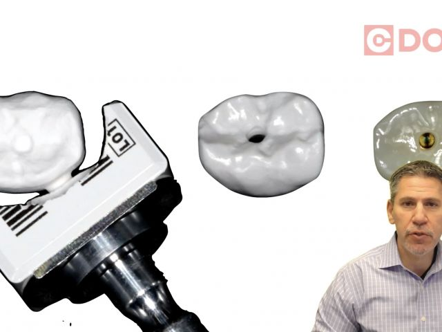 Tip of the Day - Creating a Screw Retained Crown