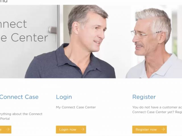 1. Registering Your Own Lab with Connect Case Center