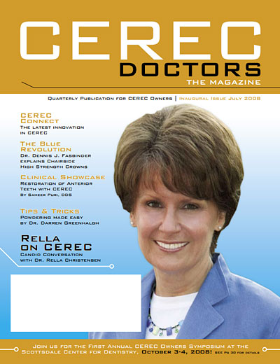 CEREC Magazine - Q3 2008