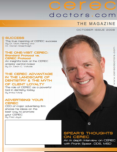 CEREC Magazine - Q4 2008