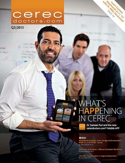 CEREC Magazine - Q3 2013