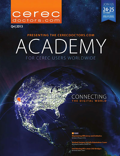 CEREC Magazine - Q4 2013