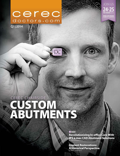 CEREC Magazine - Q1 2014