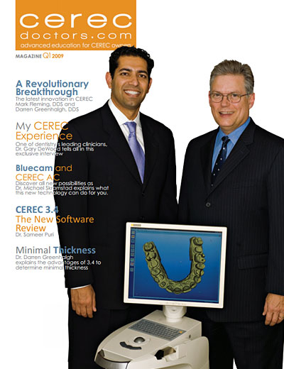 CEREC Magazine - Q1 2009