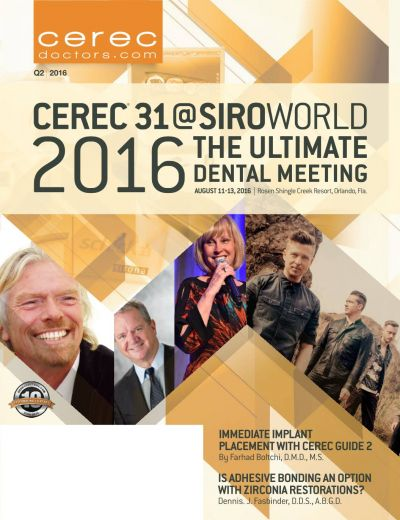 CEREC Magazine - Q2 2016