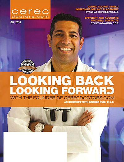 CEREC Magazine - Q3 2016