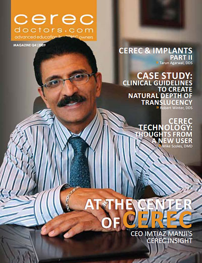CEREC Magazine - Q4 2009
